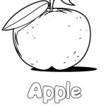 Apple Coloring Pages Apple Coloring Pages Hellokids