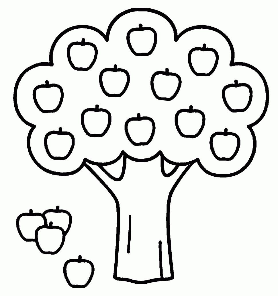 Apple Coloring Pages Apples Coloring Pages Free Printable Apple For Kids Book 16001164
