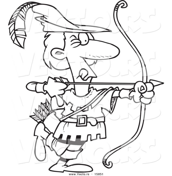 Arrow Coloring Pages Coloring Pages Indian Arrow Throwsoloring Page High Resolution