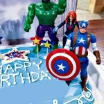 Avenger Birthday Cake Avengers Birthday Cake Idea And Party Supplies Kenarry