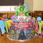 Avenger Birthday Cake Best Superhero Birthday Cake Marvel Avengers With Hulk Spiderman