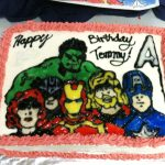 Avenger Birthday Cake Love Making In The Kitchen Where Food Goes Beyond The Boundary Of