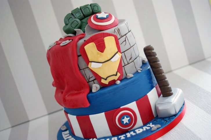 Avengers Birthday Cakes Birthday Cakes Archives Page 4 Of 13 Bakealous