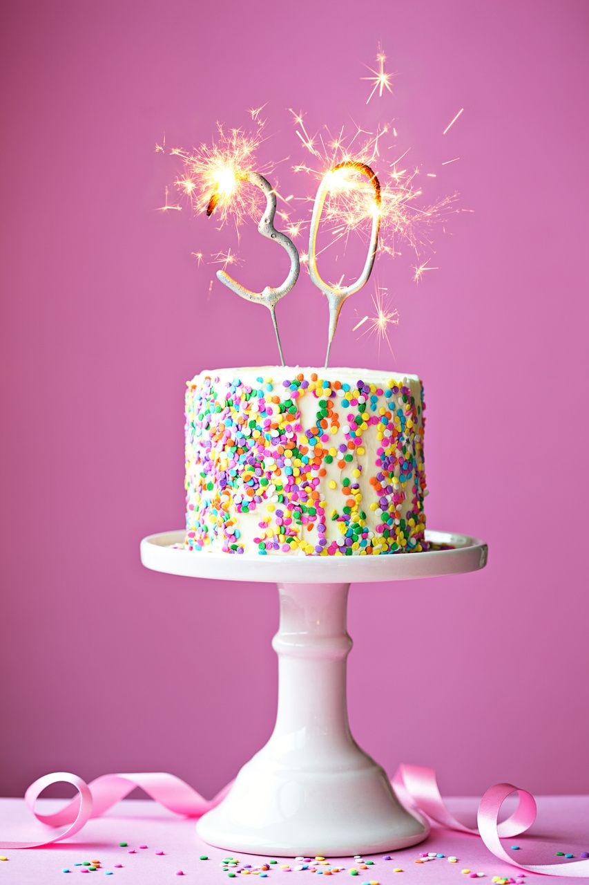 Awesome 30Th Birthday Cakes 30th Ideas Fabulous Cupcakes Pinterest