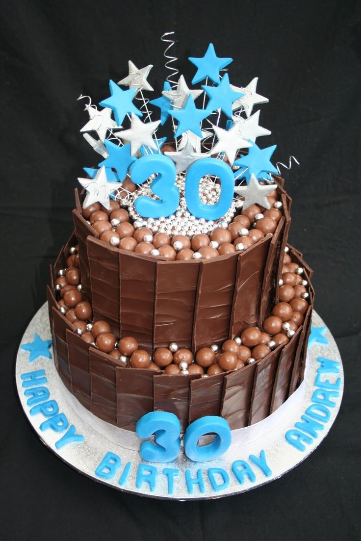 Awesome 30Th Birthday Cakes Best 25 30th Birthday Cakes Ideas On Pinterest Glitter Cake 30