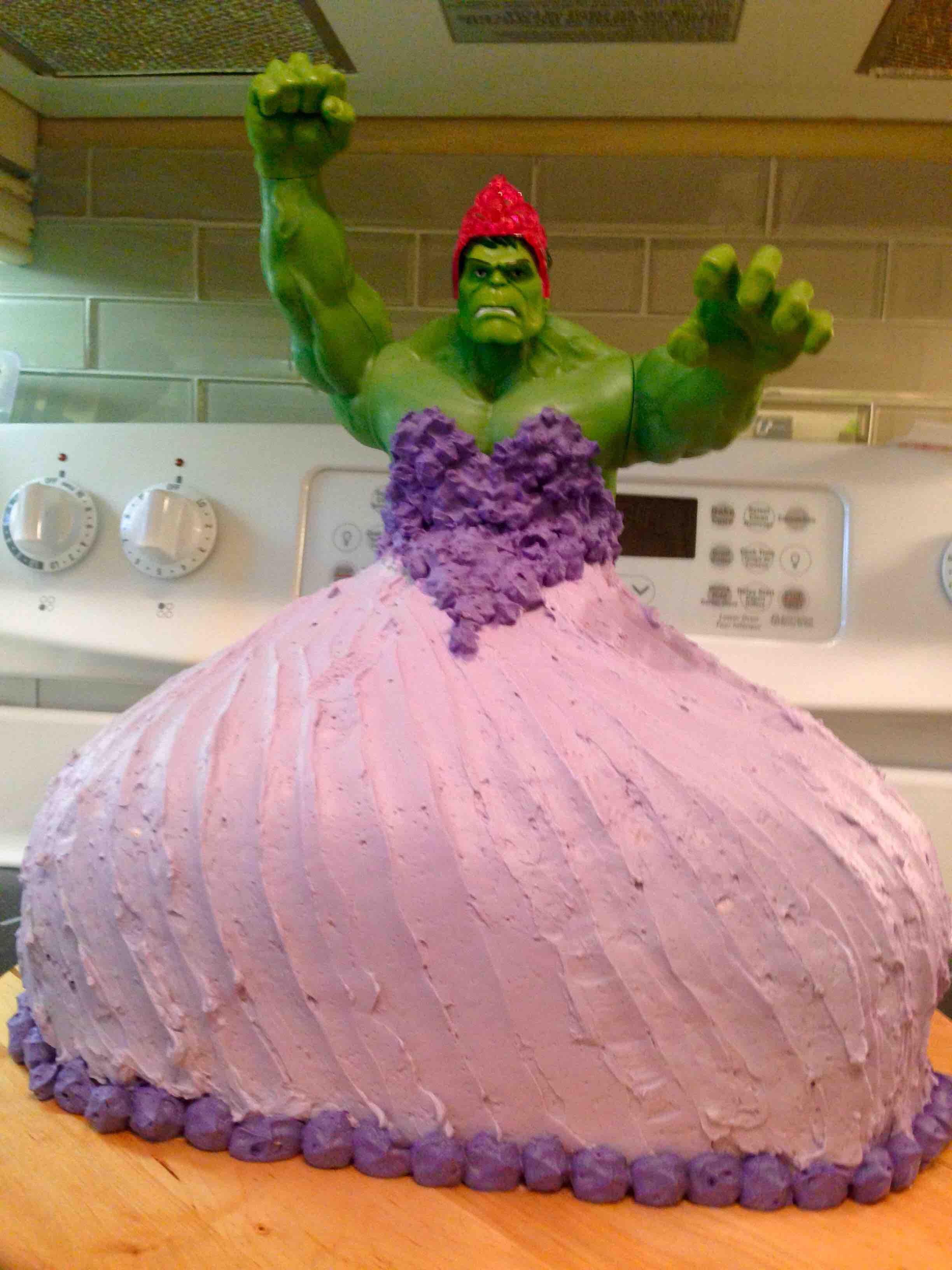 Awesome Birthday Cakes Awesome Hulk Princess Cake Smashes Gender Norms