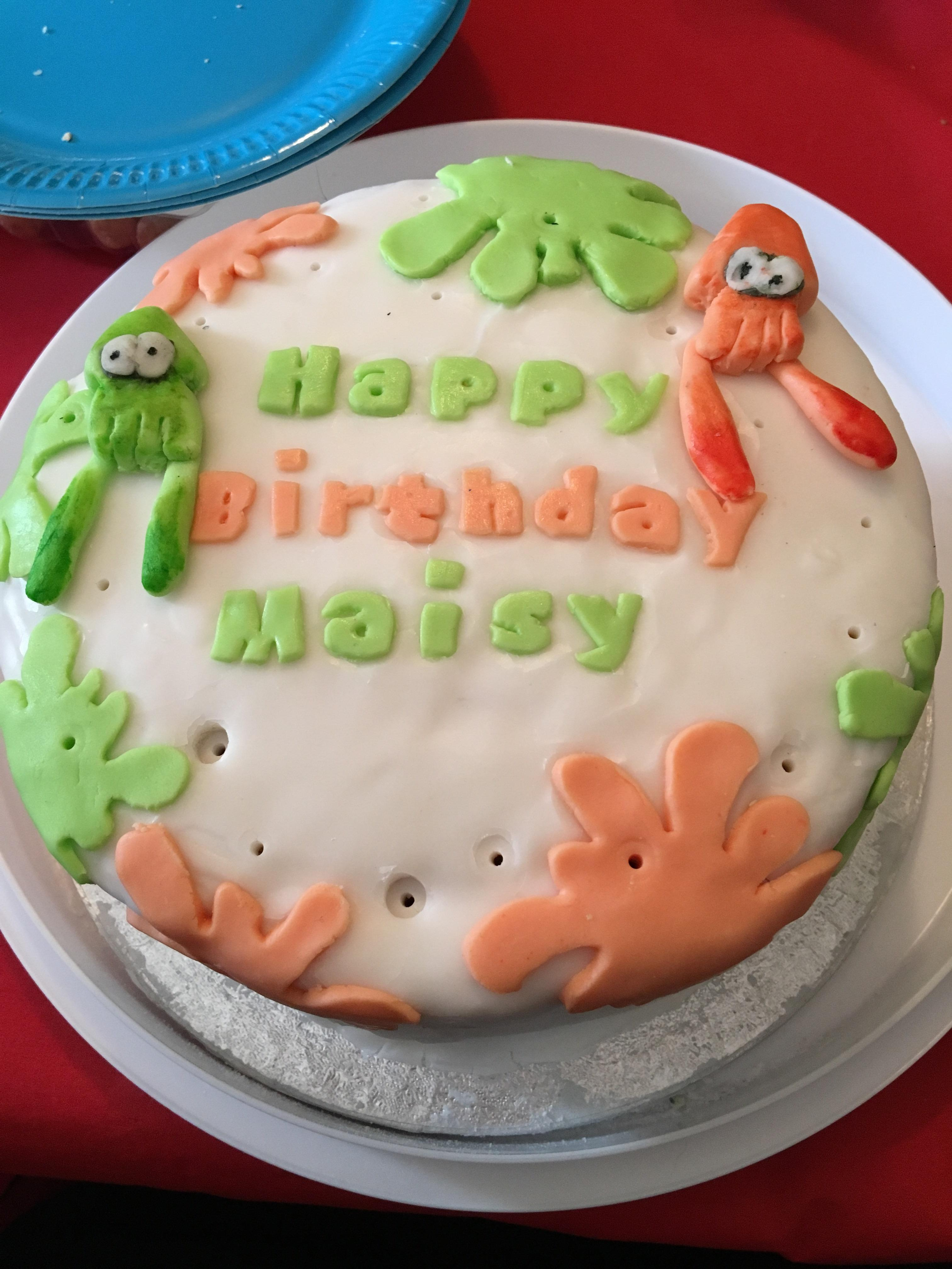 Awesome Birthday Cakes My Sister Baked Me An Awesome Birthday Cake Splatoon