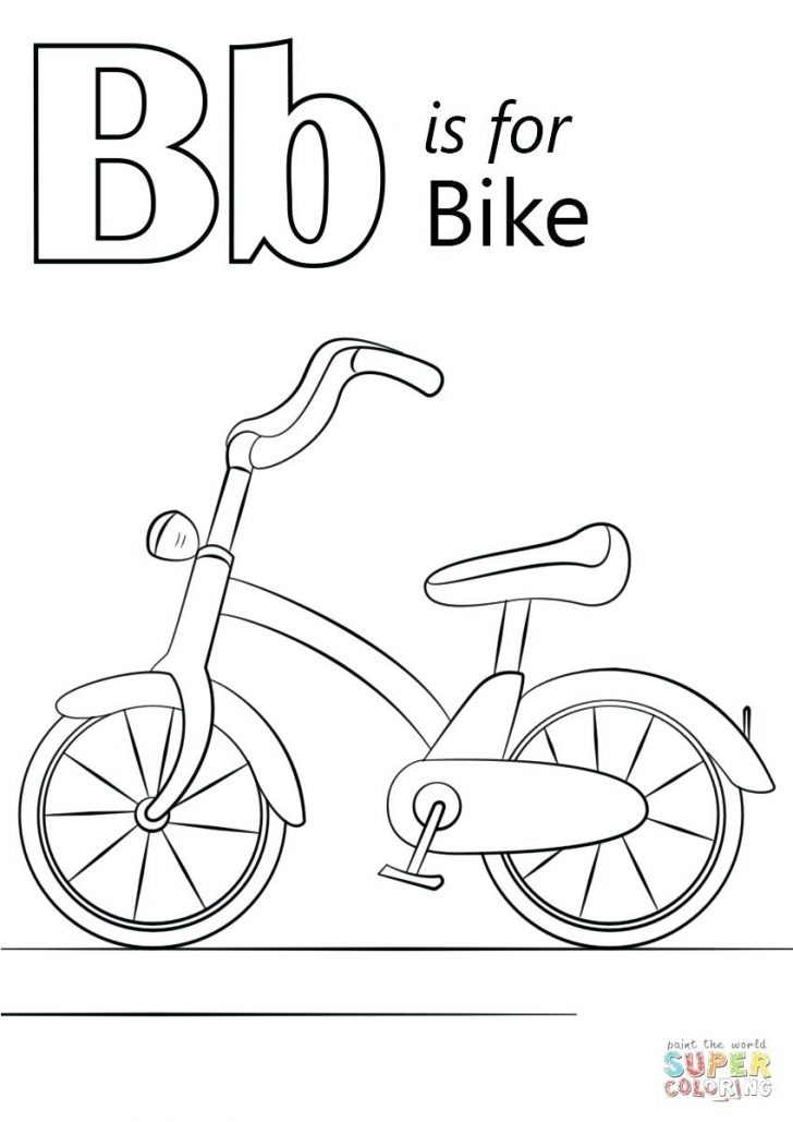 B Coloring Page Letter B Coloring Page Askivsclub