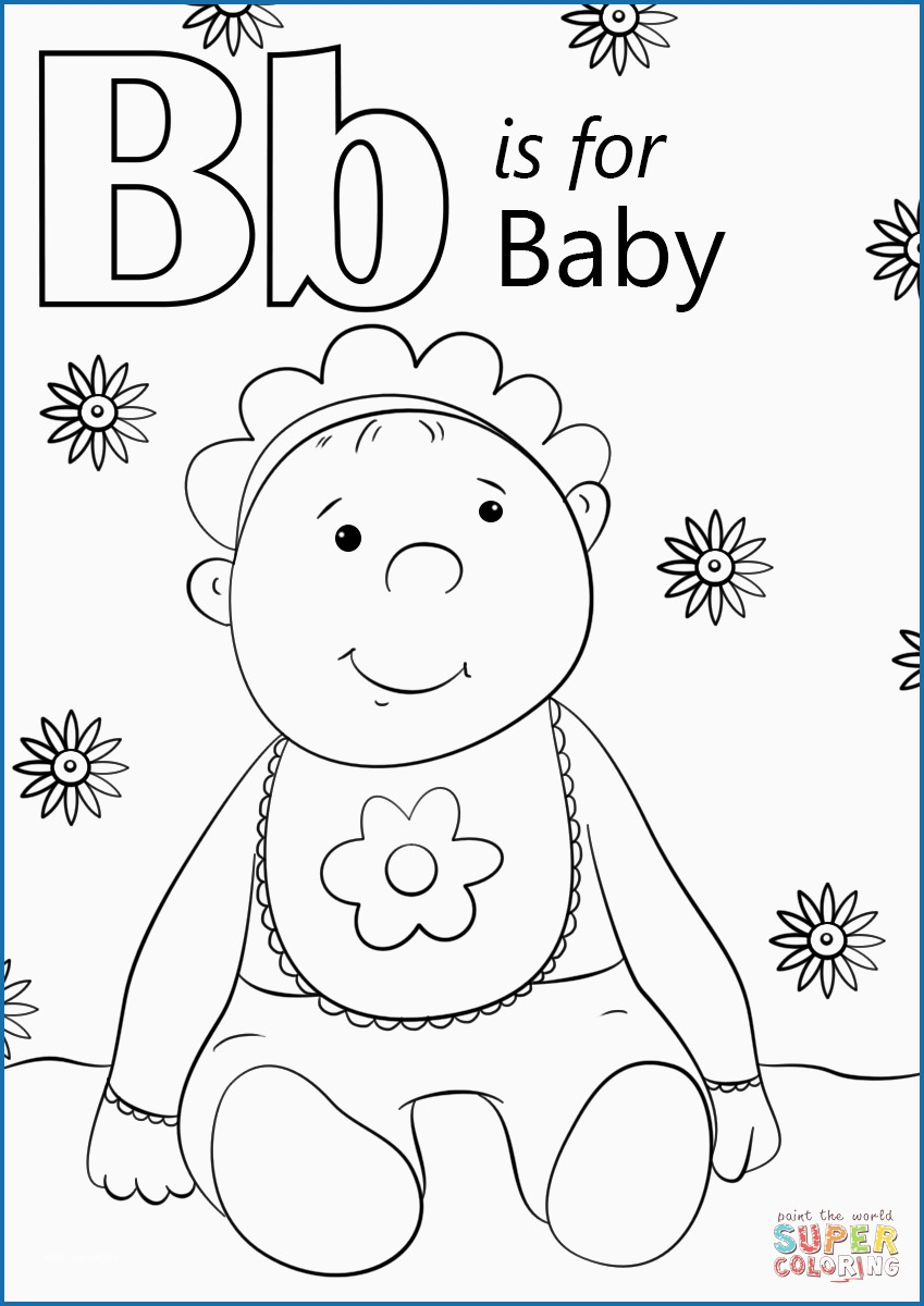 B Coloring Page Letter B Coloring Pages Awesome Letter B Is For Ba Coloring Page