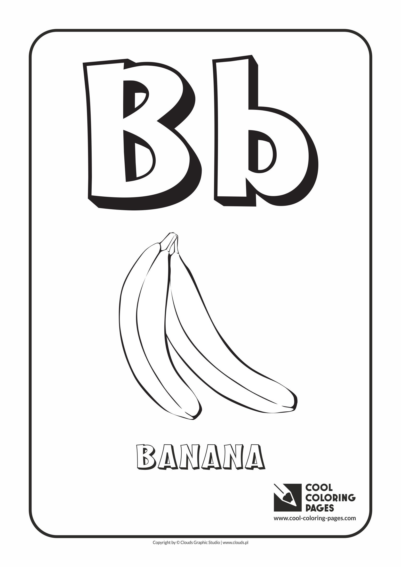 B Coloring Page Letter B Coloring Pages Gerrydraaisma
