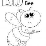 B Coloring Page Letter B Is For Bee Coloring Page Free Printable Coloring Pages