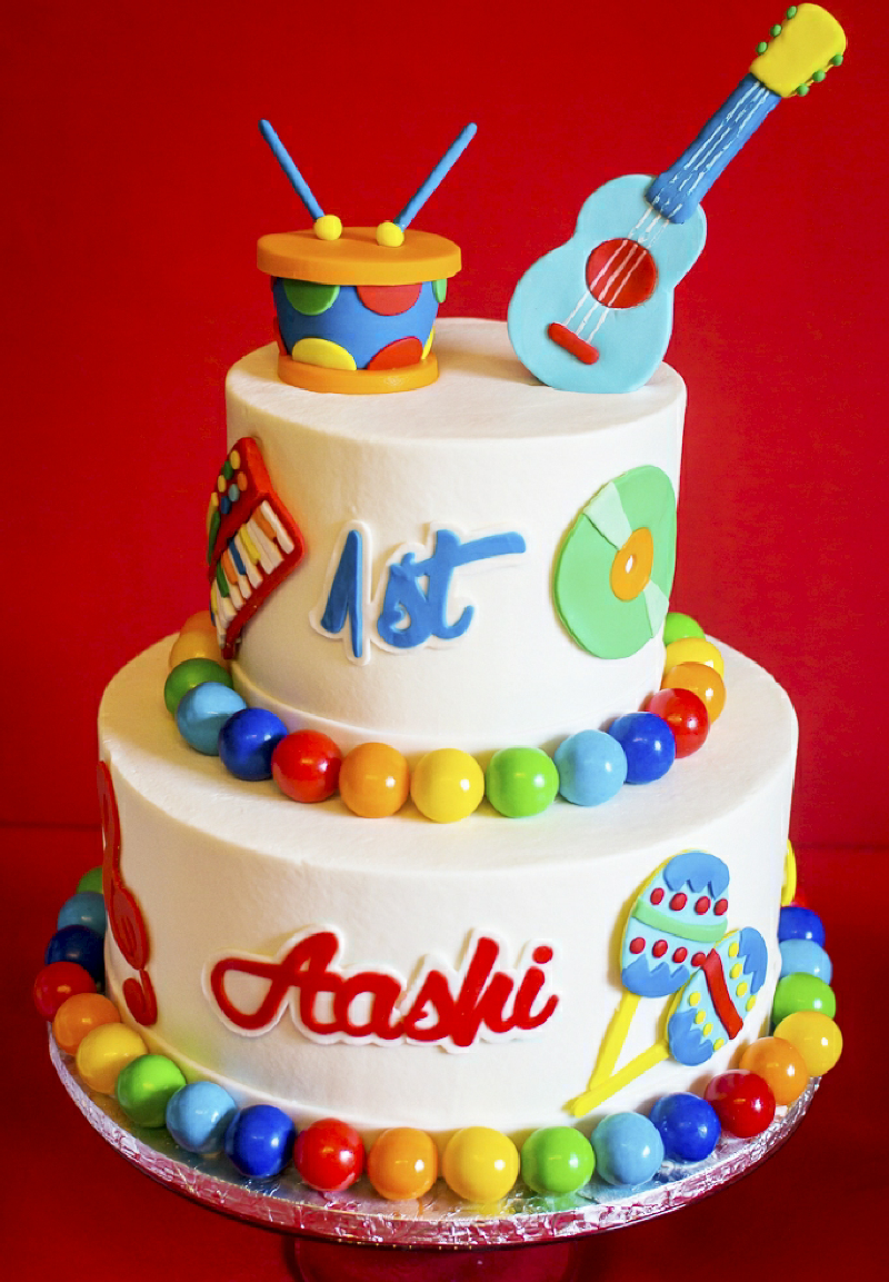 Baby 1St Birthday Cake Ba Jam Music Inspired 1st Birthday Party Party Ideas Party