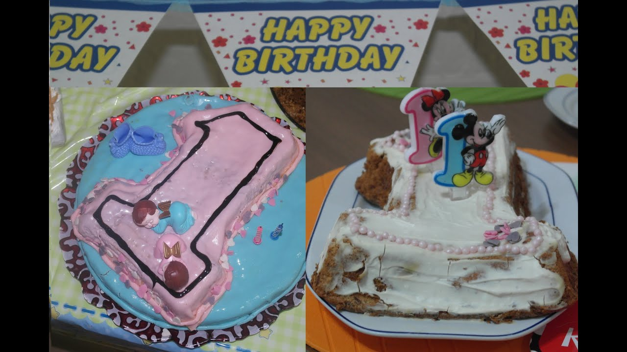 Baby 1St Birthday Cake Easy Ba Recipe Bas First
