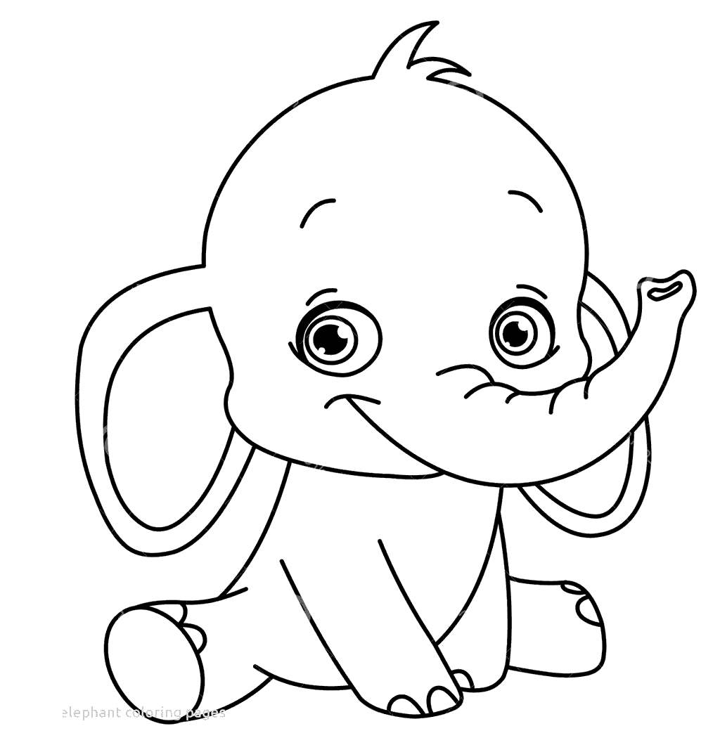 27+ Pretty Photo of Baby Elephant Coloring Pages