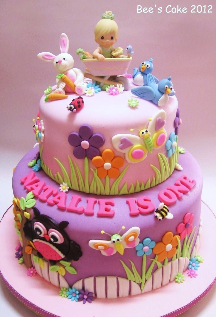 Baby Girl Birthday Cake Pin Mary Parks On Cakes In 2019 Cake Birthday Cake Birthday