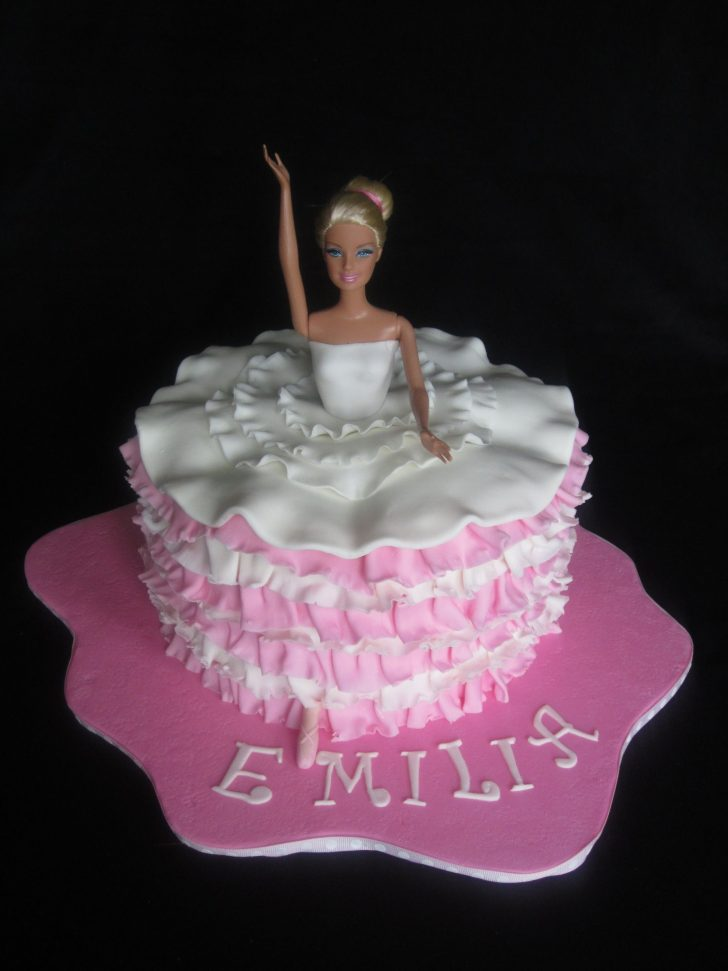 Ballerina Birthday Cake Ballerina Birthday Cake Haileys Party In 2018 Pinterest