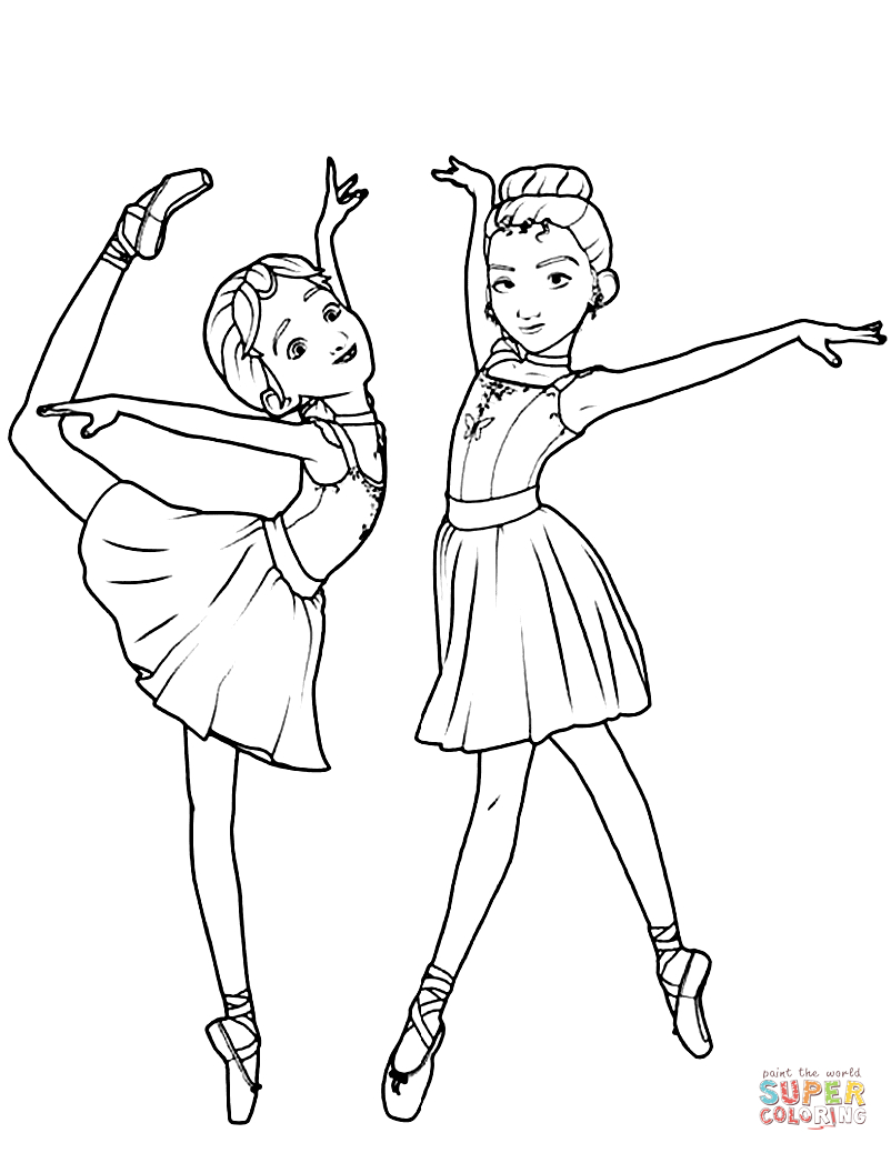 25+ Excellent Photo of Ballet Coloring Pages