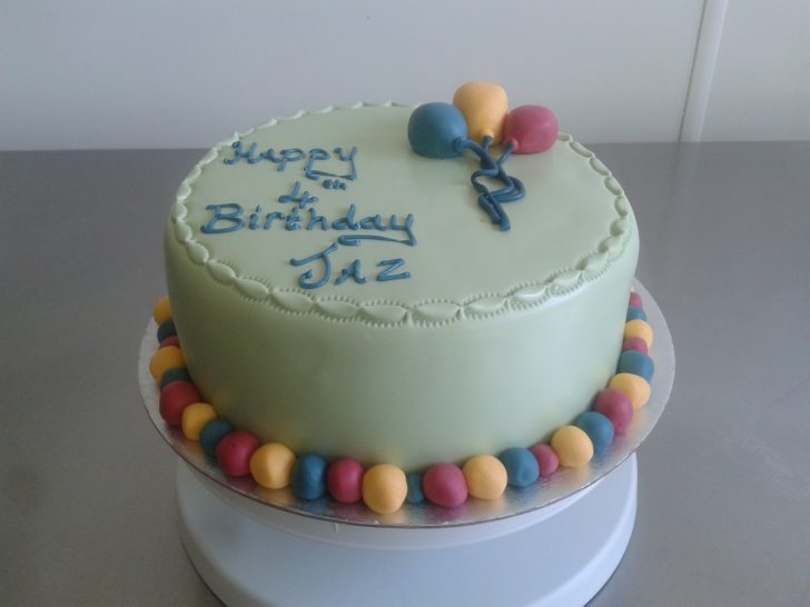 Balloon Birthday Cake Balloon Birthday Cake Cols Cupcakes Cakes