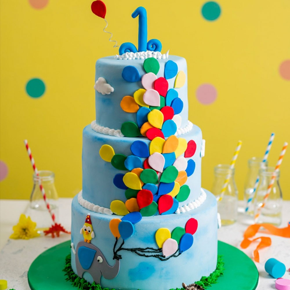 30 Exclusive Picture of Balloon Birthday Cake