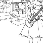 Barbie Printable Coloring Pages Barbie Coloring Pages Hellokids
