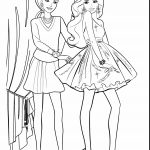 Barbie Printable Coloring Pages Barbie Printable Coloring Pages With Awesome Barbie Princess And The