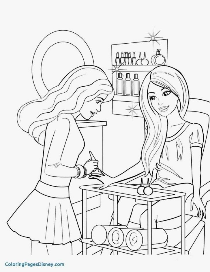 Barbie Printable Coloring Pages Coloriage Barbi Frais Coloring Pages Barbie Printable Coloring Pages