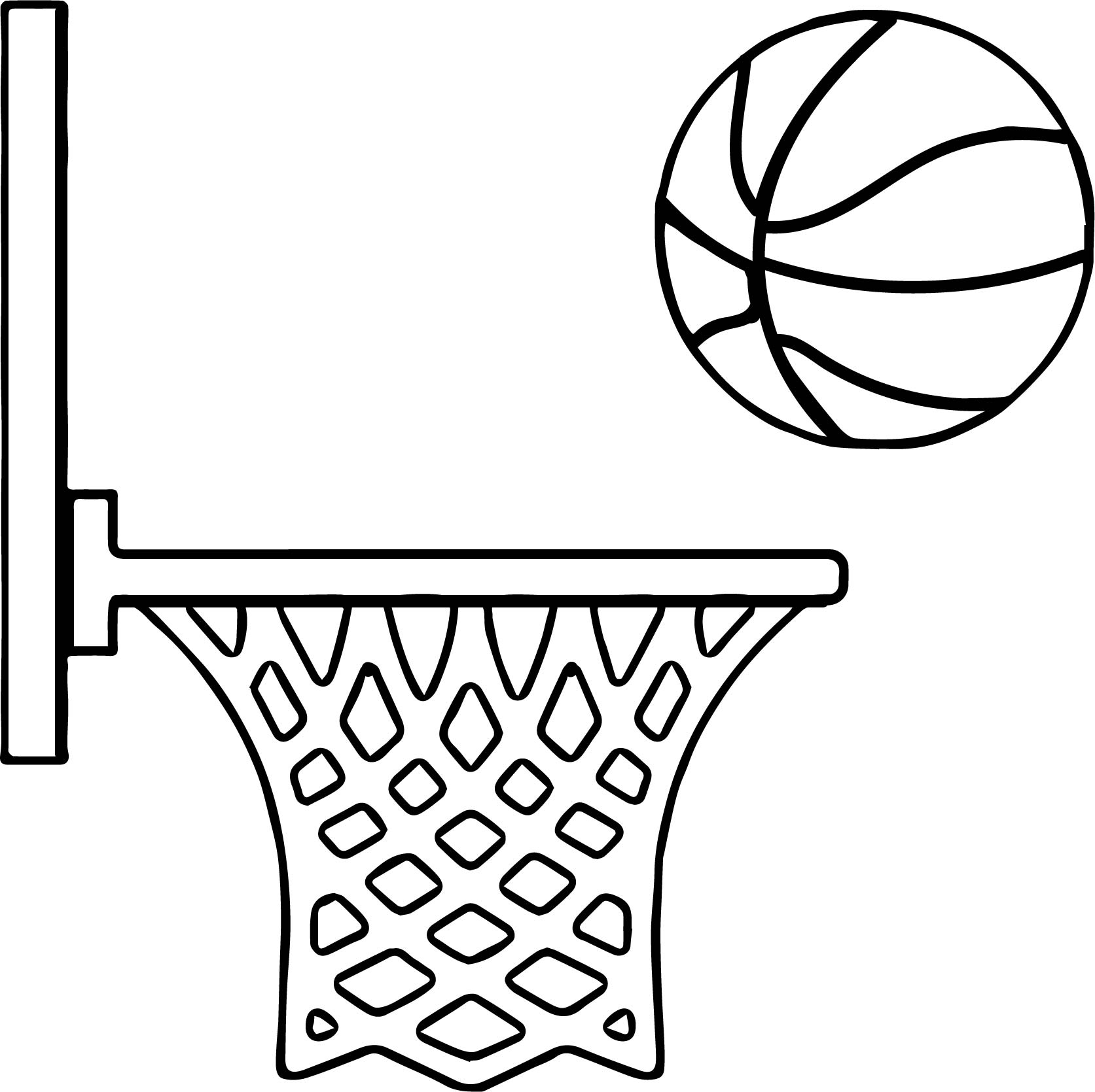 Basketball Coloring Pages Side Playing Basketball Coloring Page Wecoloringpage