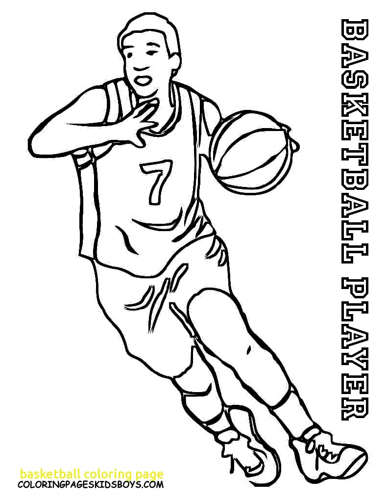 Basketball Coloring Pages Spectacular Printable Basketball Coloring Pages 59 Remodel With