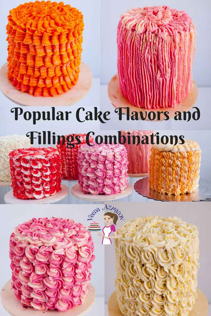 Best Birthday Cake Flavors Cake Flavor Combinations Aka Best Cake Filling And Frosting