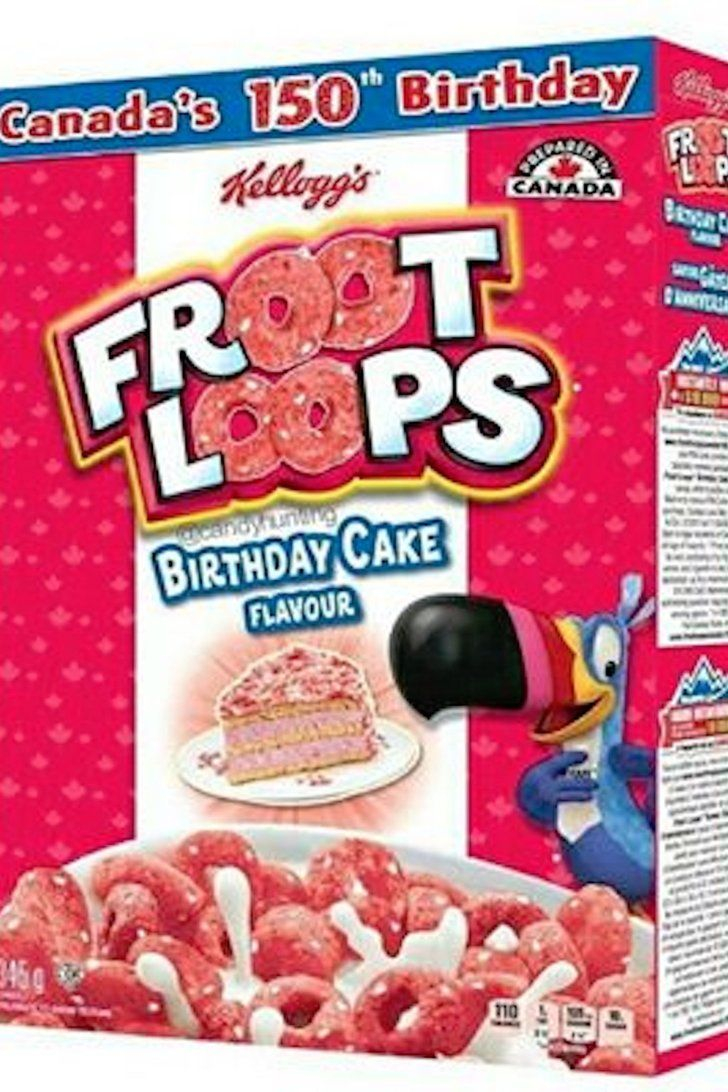 Best Birthday Cake Flavors Try Not To Hyperventilate But Birthday Cake Flavored Froot Loops