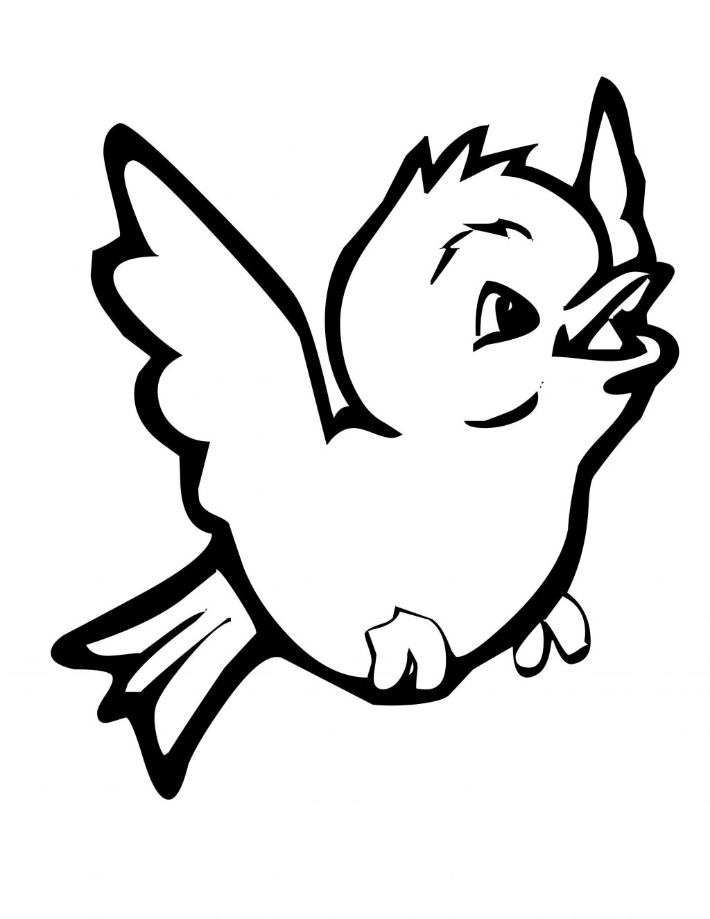 25+ Best Image of Bird Coloring Page