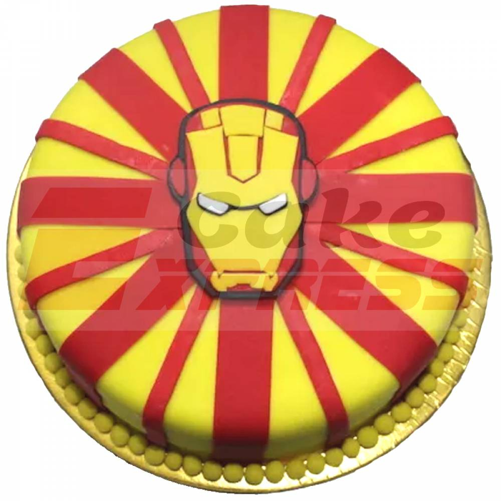 Birthday Cake Delivery Delhi Ncr Special Iron Man Theme Customized In