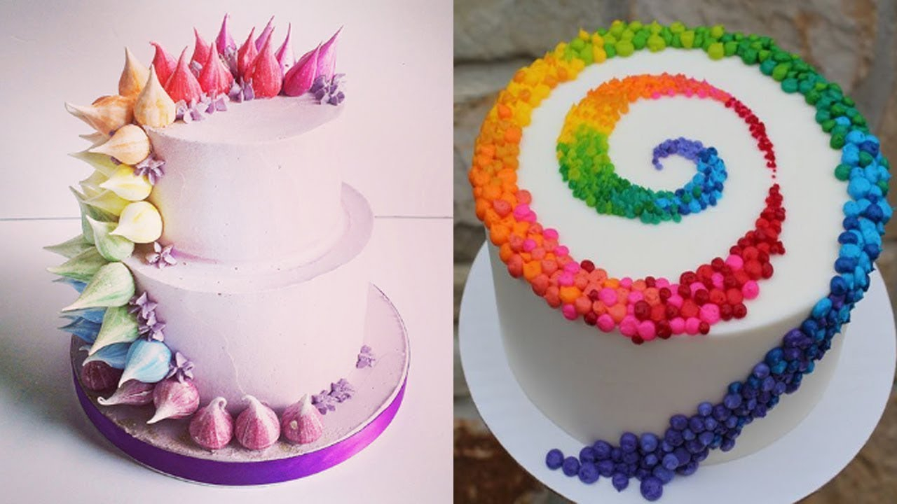 Birthday Cake Designs Top 20 Easy Birthday Cake Decorating Ideas Oddly Satisfying Cake