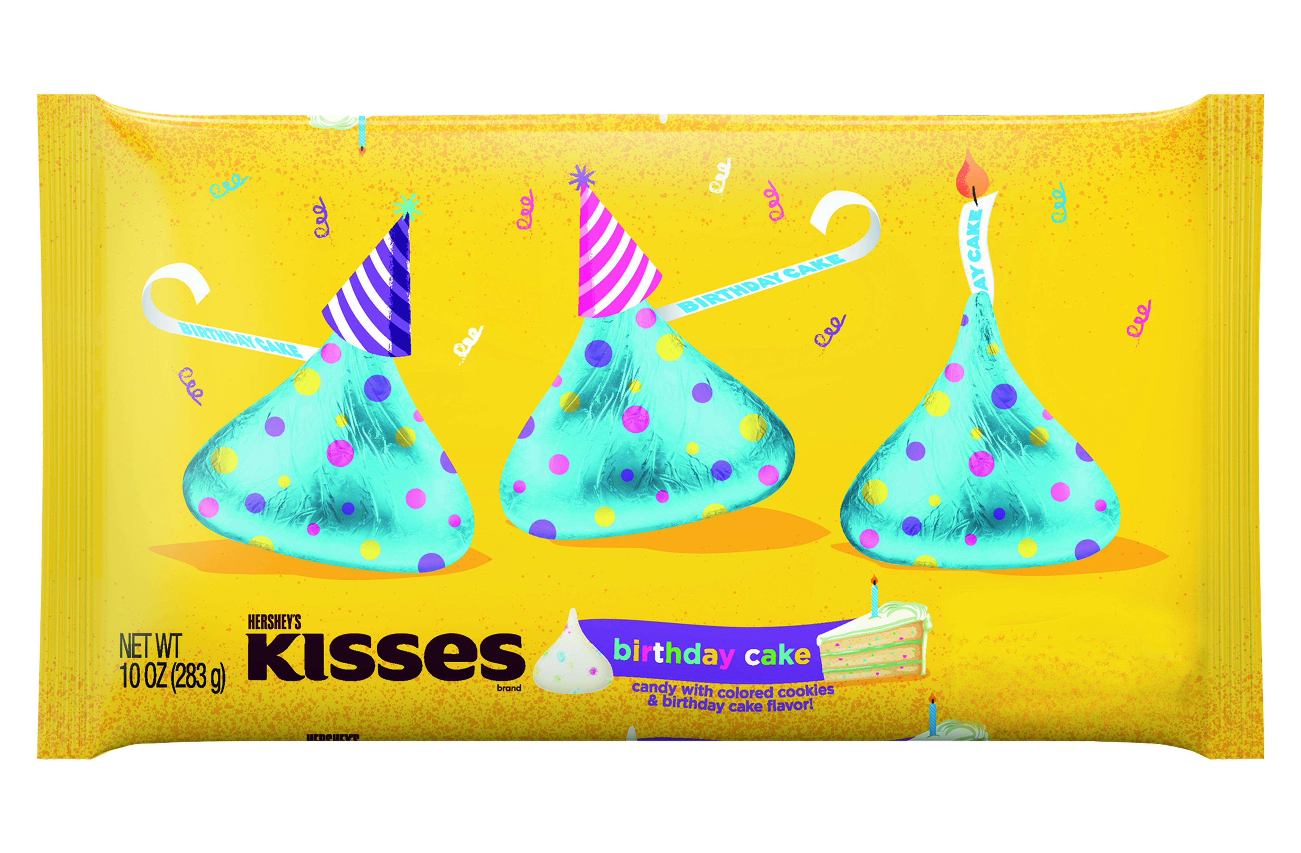 Birthday Cake Flavors Birthday Cake Kisses Hershey Expands Seasonal Offer