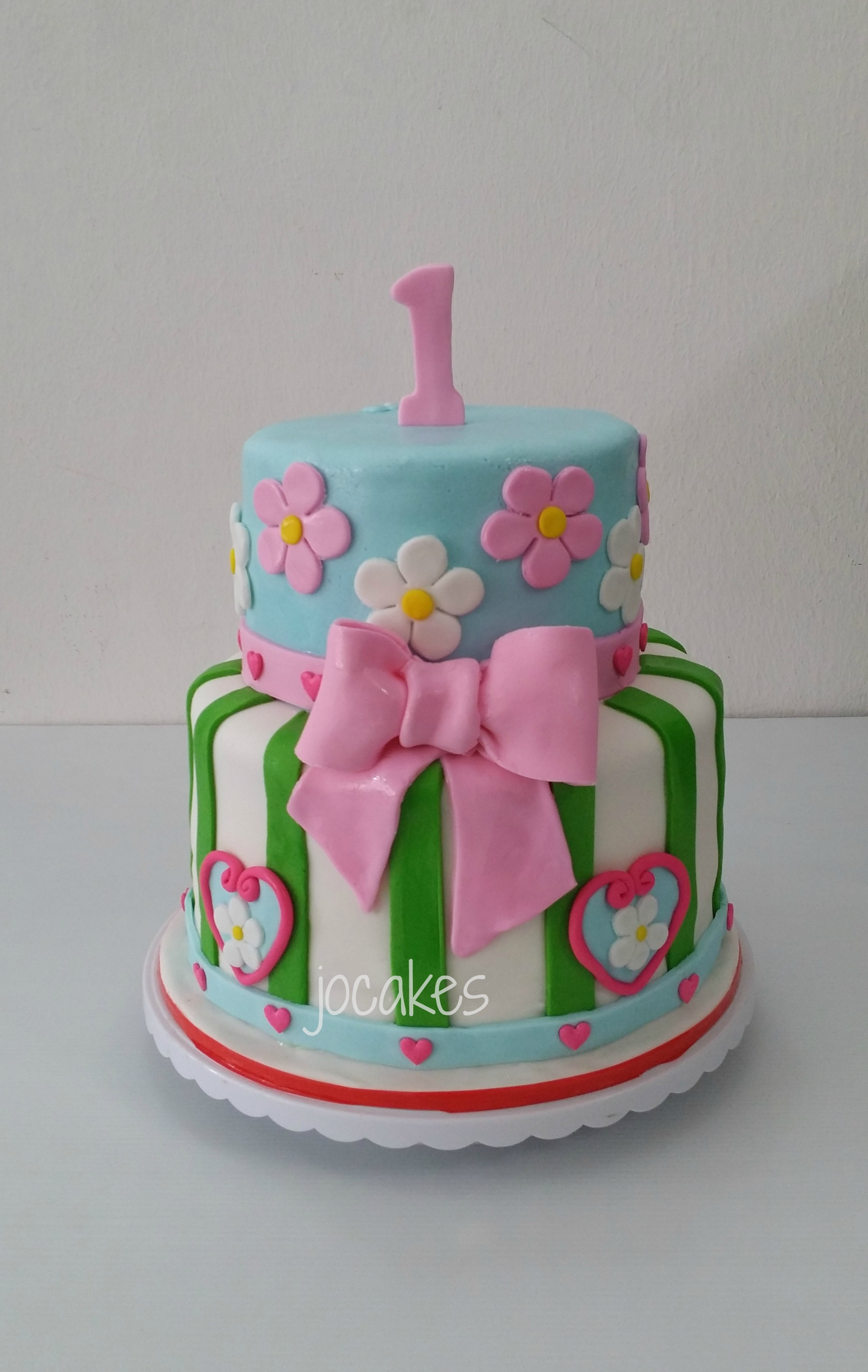 Birthday Cake For 1 Year Old 10 One Yr Old Little Girl Birthday Cakes Photo 1 Year Old Girl