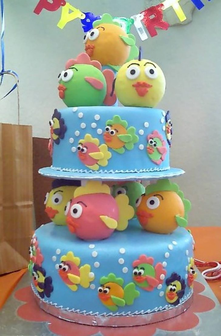 Birthday Cake For 1 Year Old Filebirthday Cake For One Year Old Wikimedia Commons