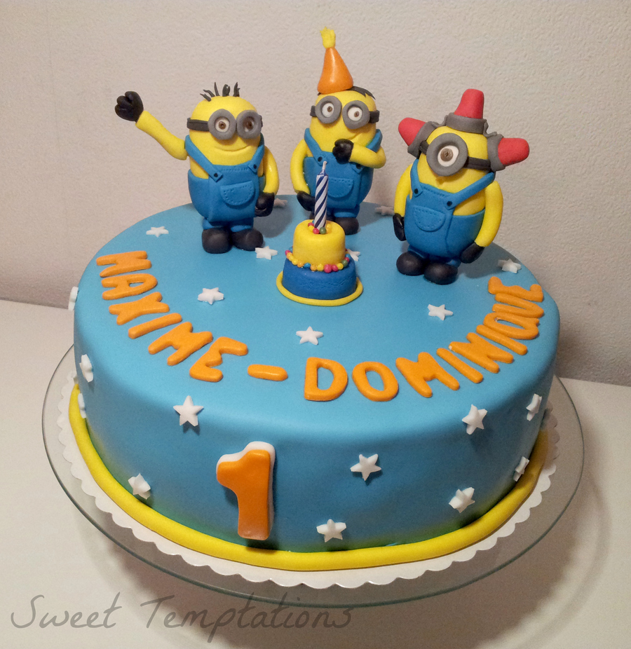 Birthday Cake For 1 Year Old Top 10 Crazy Minions Cake Ideas Birthday Express