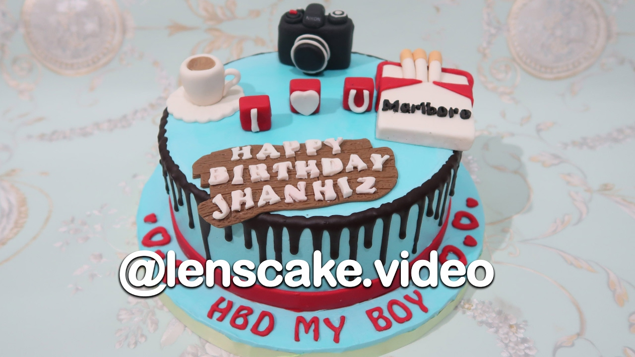 Birthday Cake For Boyfriend How To Make Birthday Cake For Boyfriend Youtube