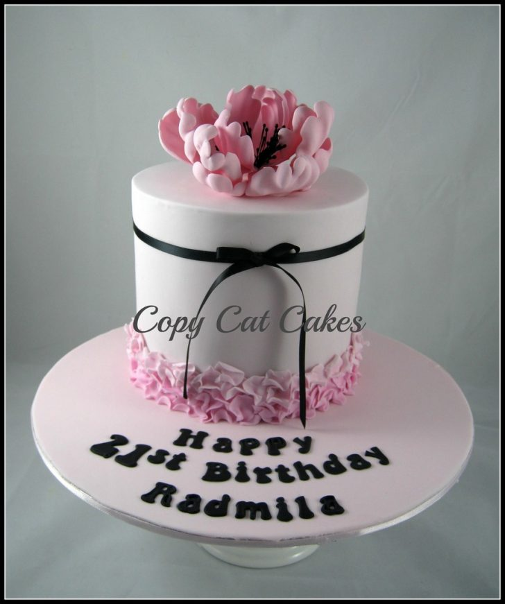 Birthday Cake For Her Birthday Cakes For Her Cakecentral