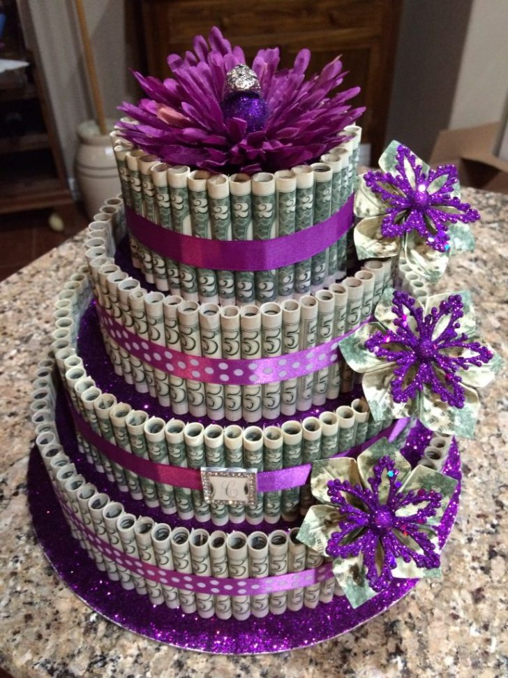 Birthday Cake For Her Money Cake 25th Birthday Cake For My Daughter A Antique Ring Her