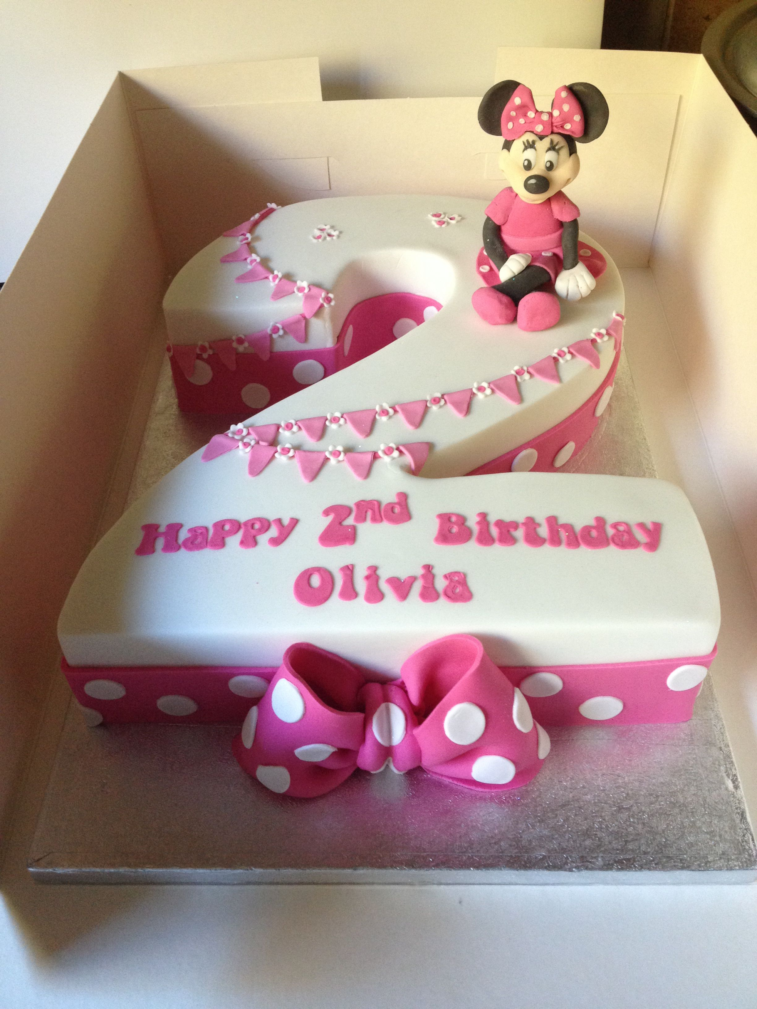 Birthday Cake For Her This Is The One I Want For My Skylar One Her Second Birthday