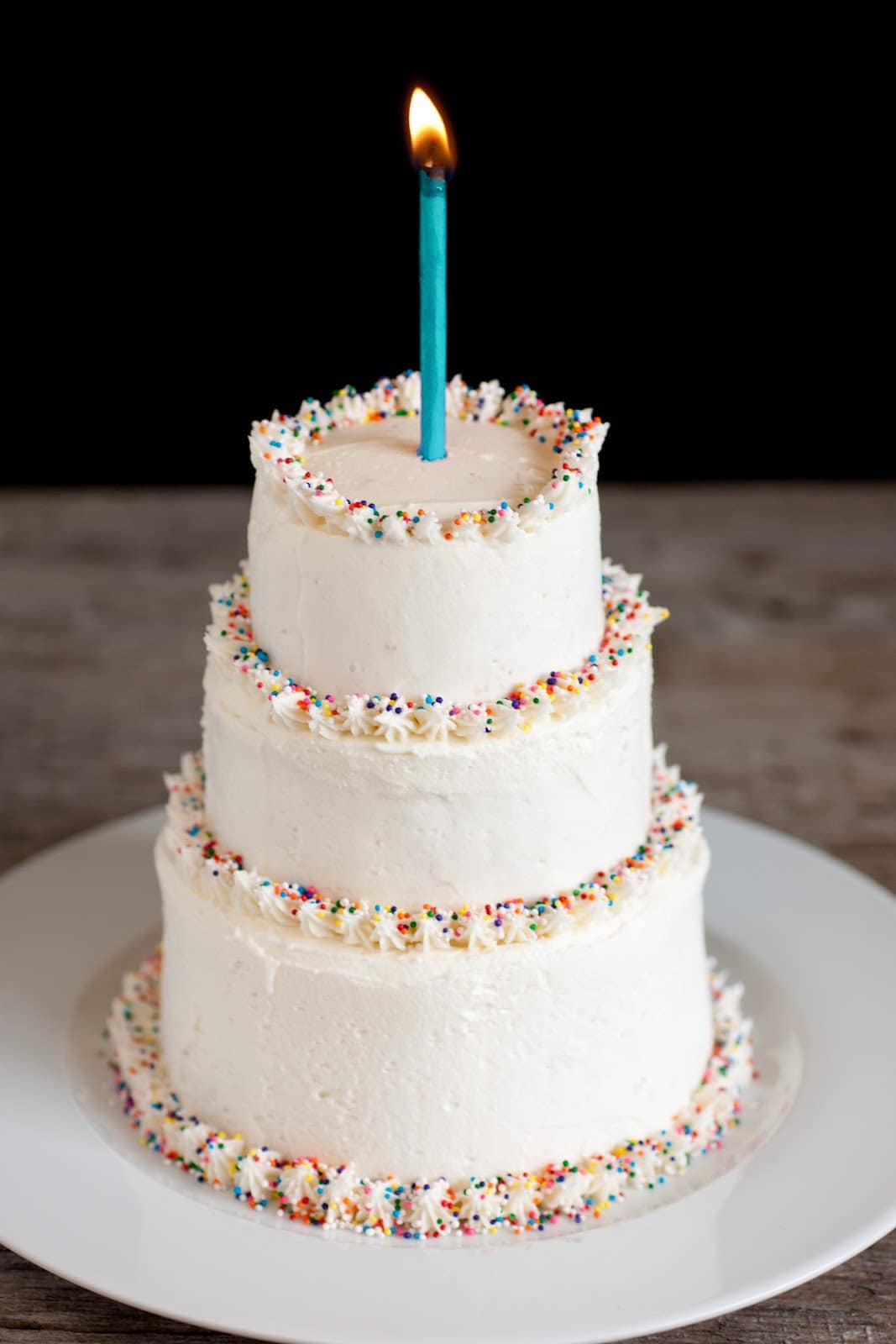 Birthday Cake Icing Recipe Buttercream Frosting Perfect Ratio Best Method Cooking Classy
