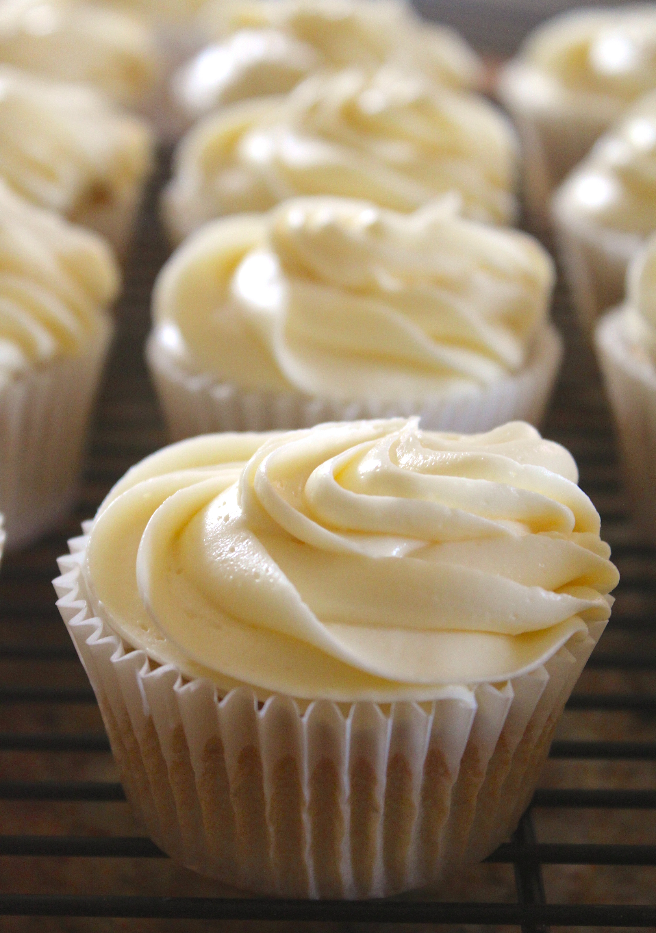 Birthday Cake Icing Recipe White Russian Cupcakes With Vodka Buttercream Icing Christinas Cucina