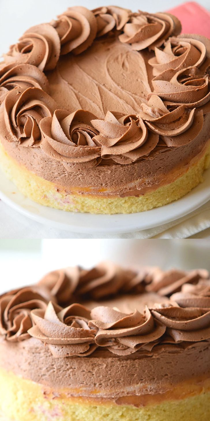 Birthday Cake Icing Recipe Yellow Cake With Fudge Frosting Recipe Pizzazzerie