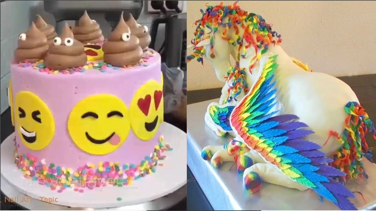 Birthday Cake Ideas For Adults Top 20 Amazing Birthday Cake Decorating Ideas Oddly Satisfying
