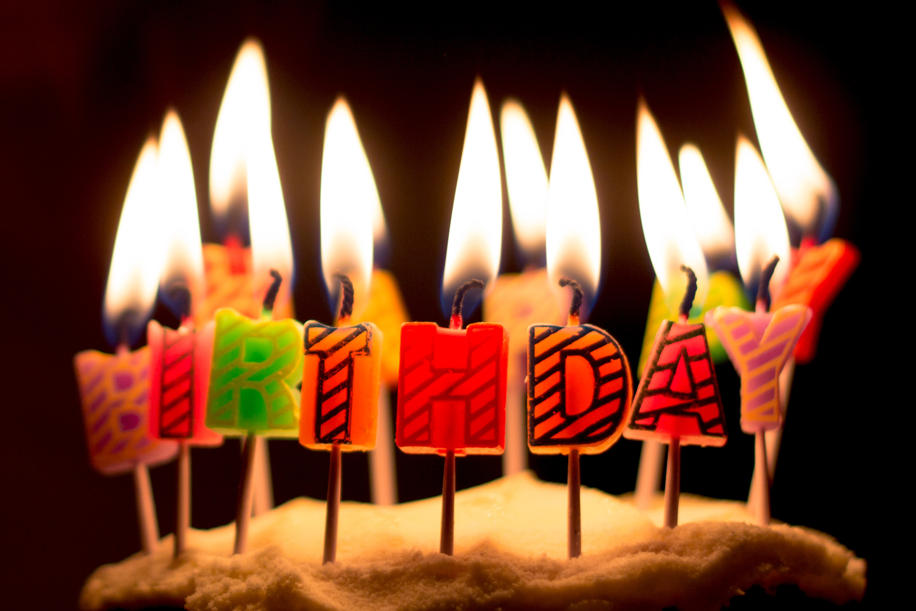 Birthday Cake Picture Free Download Birthday Cake Candles Free Photo Iso Republic