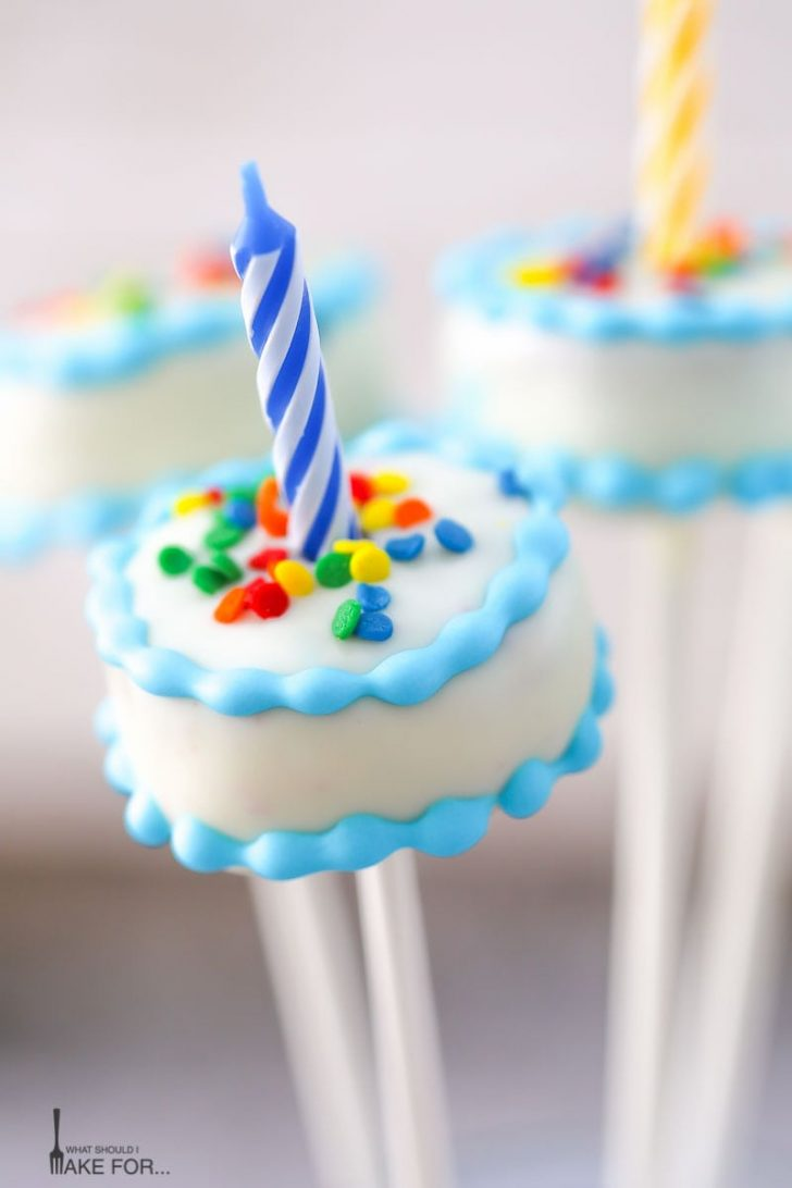Birthday Cake Pops Birthday Cake Cake Pops What Should I Make For