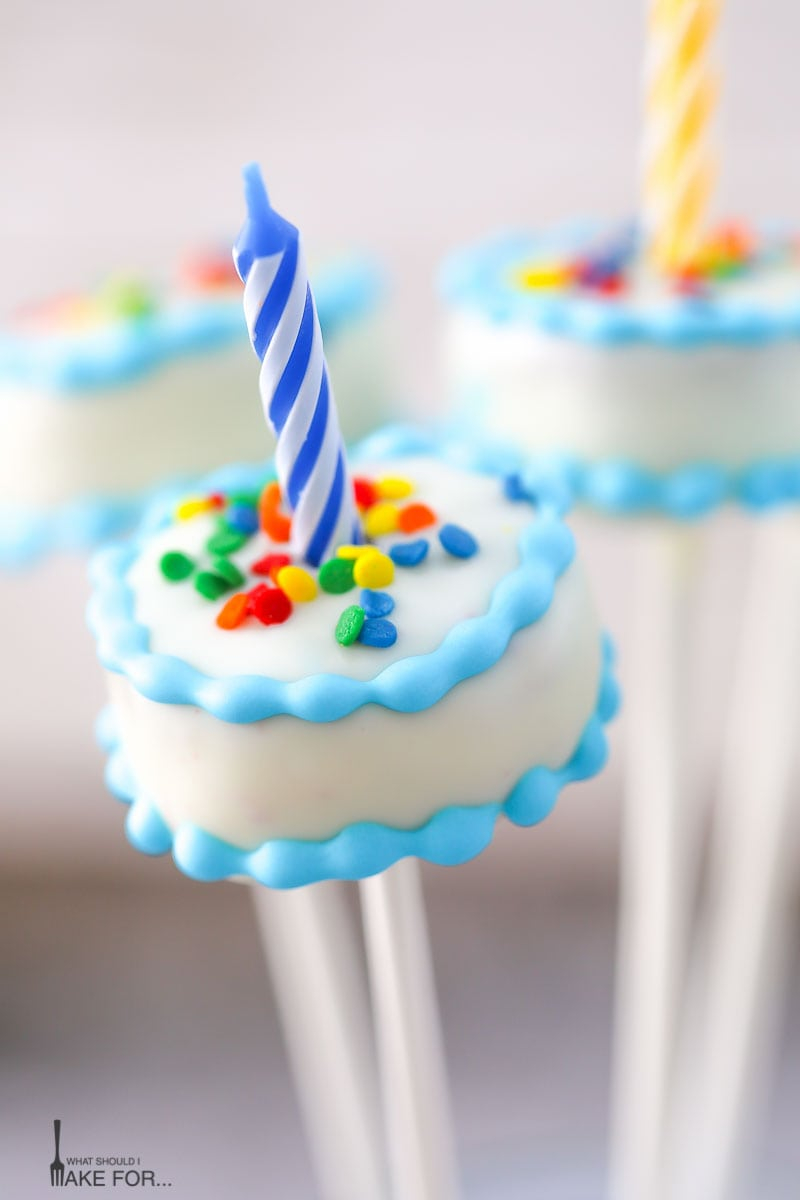 30 Brilliant Image of Birthday Cake Pops