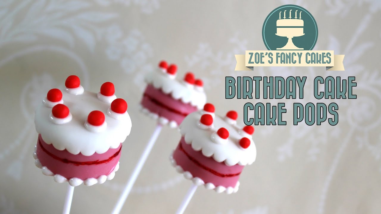 Birthday Cake Pops Birthday Cake Pops How To Make Birthday Cake Cake Pops Youtube