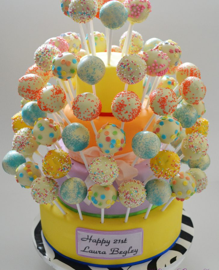 Birthday Cake Pops Online Cake Pop Ordering Min Order 25 Elite Cakes Boutique